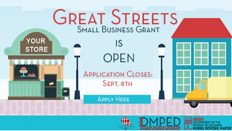 Attention DC Small Biz Owners: Learn How the Great Streets Small Business Grant May Support Your Business