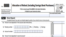 Attention Washingtonians: Easy Way to Save Your Tax Refund with the IRS Form 8888