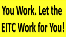 Attention Washingtonians! If You Worked in 2018, Let the EITC Work for You!