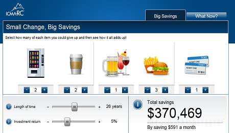 By Making Small Changes, We Can Achieve Big Savings