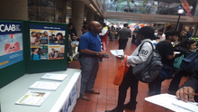 CAAB Engages with Attendees of MOLA's Summer Youth Employment Program Career Expo on the DC EITC Campaign