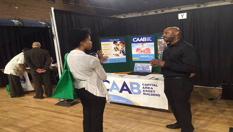 CAAB Engages with DC-Based Veterans at the DC Hires Vets Event on the EITC and Free Tax Preparation Services in DC