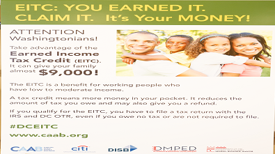 CAAB Engages with DCPS Families to Raise Awareness of the EITC