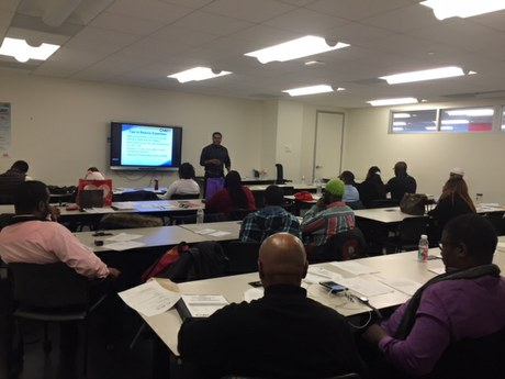 CAAB Engages with DOES Project Empowerment Participants on Tax Planning and the EITC