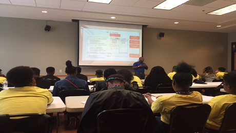CAAB Engages with Over 50 Youth in Ward 8 Participating in WC Smith's 2018 Summer Youth Employment Program on Financial Wellness and Raising Awareness of the EITC