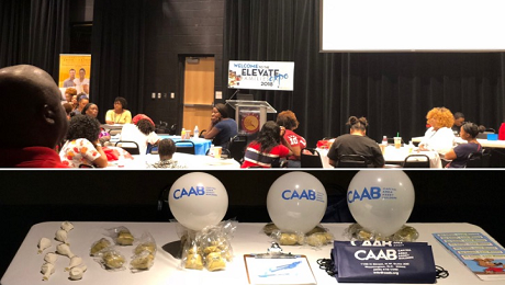 CAAB Engages with Ward 8 Families at the 2018 Elevate Families Expo to Raise Awareness of the EITC