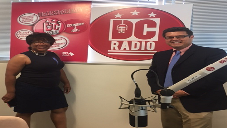 CAAB on DC Radio to Discuss Savings and Raise Awareness of the EITC for New Workers