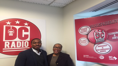 CAAB on DC Radio to Raise Awareness of CFSA's Making Money Grow Program for the benefit of DC Foster Youth