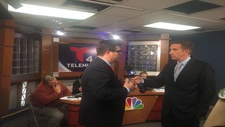 CAAB on Telemundo Washington to Raise Awareness of the EITC and Connect Washingtonians with Free Tax Preparation Services