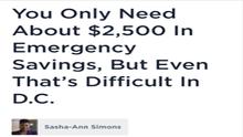 CAAB on WAMU 88.5 FM to Discuss Savings and Emergency Savings in Washington, DC
