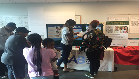 CAAB Participates in SOME's Wellness and Financial Literacy Fair in Ward 7 to Raise Awareness of the EITC