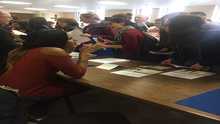 CAAB Participates in Washington English Center's Community Services and Health Fair in Ward 2 to Raise Awareness of the EITC and its Benefits for Low-Income Washingtonians