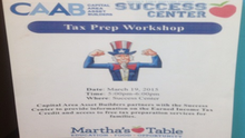 CAAB Partners with Martha's Table to Raise EITC Awareness in DC
