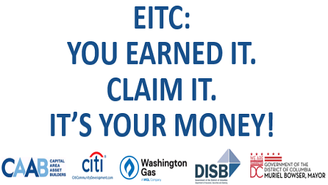 CAAB Partners with Parent Engagement Coaches of LIFT-DC to Raise Awareness of the EITC