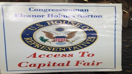 CAAB Presents on IDAs at Congresswoman Eleanor H. Norton's 2015 Small Business Fair
