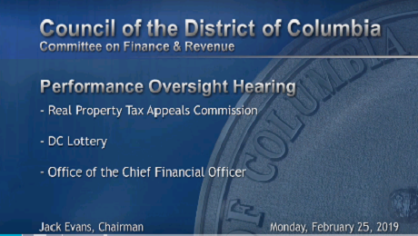 CAAB Provides Testimony to DC Council's Committee on Finance and Revenue re DC OTR and DC EITC Campaign