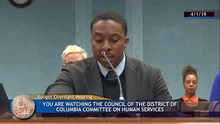 CAAB Provides Testimony to DC Council's Committee on Human Services re DC Child and Family Services Agency and to Raise EITC Awareness
