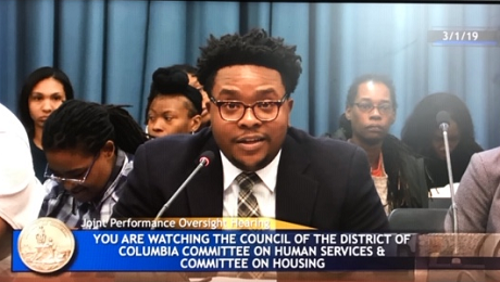 CAAB Provides Testimony to DC Council's Committee on Human Services re DC DHS, Flexible Rent Pilot Program and EITC Awareness