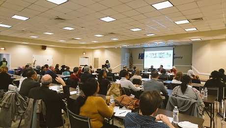 CAAB Raises EITC Awareness at CNHED's February 2019 Monthly Meeting
