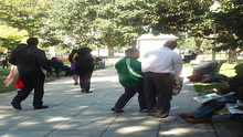 CAAB's Staff Engaging with our Homeless Neighbors in Downtown DC