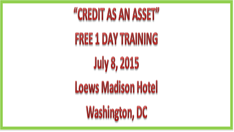 Credit as an Asset Training: Free Event Sponsored by FDIC and Credit Builders Alliance