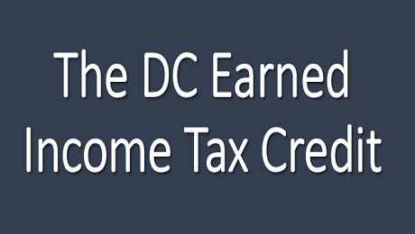 Earned Income Tax Credit for DC Residents