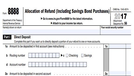 Easy Way to Save Your Tax Refund: IRS Form 8888