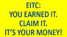 EITC: You Earned It. Claim It. It's Your Money!