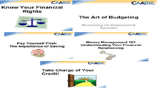 Get Financially Fit at the Beginning of the Fall with CAAB's Financial Education One-Day Money Management 101 Workshop