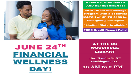 Get On the Road to Financial Wellness with CAAB's Financial Wellness Day on June 24th!