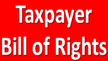 Get to Know Your Taxpayer Bill of Rights