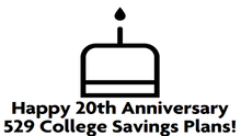 Happy 20th Anniversary 529 College Savings Plans!