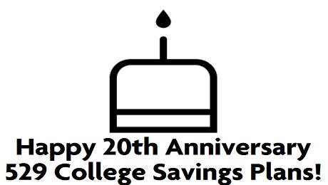 Happy 20th Anniversary 529 College Savings Plans!