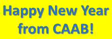Happy New Year from CAAB!