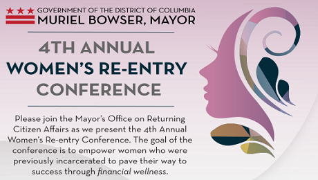 Invitation to Attend 4th Annual Women's Re-entry Conference on November 17th