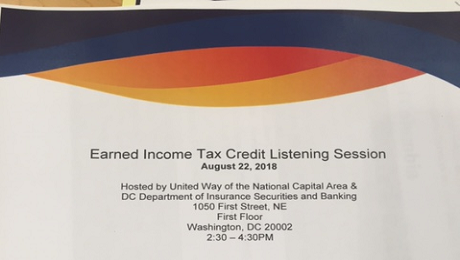 CAAB Joins VITA Partners to Discuss the EITC and Free Tax Preparation Services