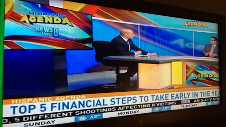 CAAB on 2 TV Shows Over the Weekend to Discuss Top 5 Financial Steps to Take Early in 2016