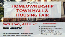 CAAB Raises Awareness of the EITC at the 3rd Annual Homeownership Town Hal and Housing Fair