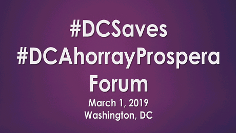 Please Join Us on March 1st for the First #DCSaves #DCAhorrayProspera Forum: Wealth Creation Strategies for Low- and Moderate-Income Washingtonians
