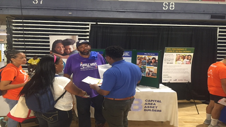 Raising EITC Awareness at UWNCA's 4th Annual Project Homeless Connect