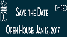 Save the Date for the First DC Economic Development Open House on January 12th!
