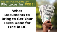 What to Bring with You to a Free Tax Preparation Site